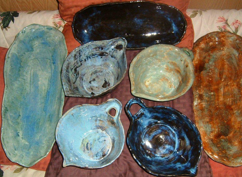 Examples of Bowls and Platters